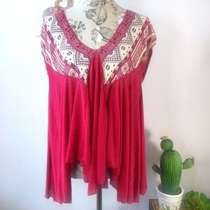Free People sleeveless blouse